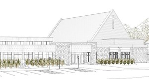 Minneapolis-based Kraus-Anderson recently put the finishing touches on this 50,000-square-foot expansion of the Mount Olivet Lutheran Church's West Campus in Victoria. (Submitted rendering: CREO Design Collaborative)