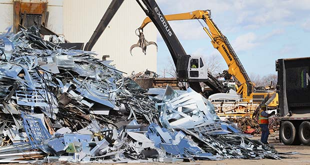 The Northern Metal Recycling will move its operations from 2800 Pacific St. N. in Minneapolis, pictured, to a new facility in Sherburne County. (File photo: Bill Klotz)