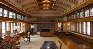 This photo shows the Frank Lloyd Wright Room located in The American Wing at the museum in New York. The room was originally the living room of the summer residence of Frances W. Little, designed and built between 1912 and 1914 in Wayzata. (Photo: Metropolitan Museum of Art via AP)