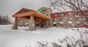 Brutger Equities Inc. of St. Cloud has paid $9 million for the Holiday Inn Express & Suites at 570 Rock Ridge Drive in Mountain Iron. (Submitted photo: Cushman & Wakefield)