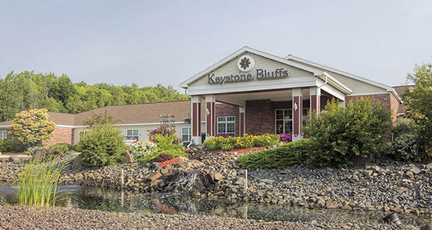 The 59,246-square-foot Keystone Bluffs assisted living facility at 2528 Trinity Road in Duluth was the most expensive property in a portfolio of such facilities purchased late last month by a New Jersey investor. (Submitted photo: CoStar)