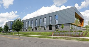 A new office building at 2800 Mount Ridge Road in Roseville is leased for 20 years to Roseville-based Calyxt. (Submitted photo: CoStar)