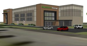 Extra Space Storage, a Utah-based self-storage operator, has paid Corcoran-based Ebert Construction more than $10 million for this new self-storage center at 13000 N. 63rd Ave., Maple Grove. (Submitted image: Ebert Construction)