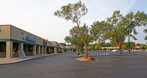 Cottonwood Plaza, a solidly performing 33,743-square-foot retail center at 3900 Vinewood Lane in Plymouth has sold for $6.2 million. (Submitted photo: CoStar)
