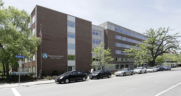 """The Elliot Park Neighborhood Inc. says it was """"blindsided"""" by Catholic Charities of St. Paul and Minneapolis' plans to convert this Augustana Care Center in Minneapolis into an emergency housing and respite care facility. (Photo: CoStar)"""