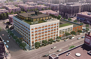 Chicago-based CEDARst plans to convert the former C.J. Duffey Paper Co. into market-rate apartments in Minneapolis' North Loop. (Submitted image: BKV Group)