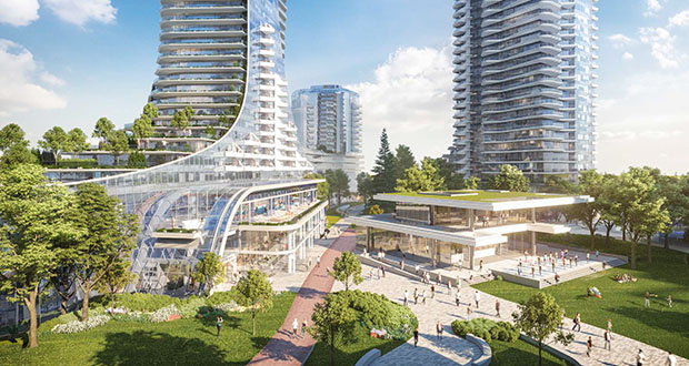 At 28.5 acres, Oakridge in Vancouver is set to be as big as New York's Hudson Yards, the largest private real estate development in North America. (Submitted rendering: Henriquez Partners Architects)