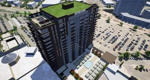 A Life Time Living apartment building planned for the southeast corner of the Southdale Center regional shopping mall could be open as soon as 2022. (Submitted illustration: Life Time)