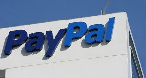 This Jan. 19, 2011 file photo shows an exterior view of eBay/PayPal offices in San Jose, Calif. (AP Photo/Paul Sakuma, File)