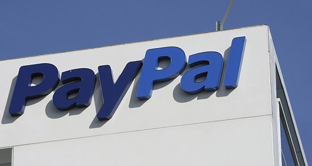 This Jan. 19, 2011 file photo shows an exterior view of eBay/PayPal offices in San Jose, Calif. (AP Photo/Paul Sakuma, File)
