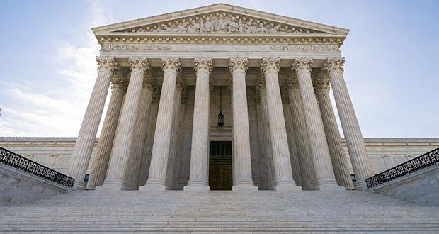 In this June 17, 2019 file photo, The Supreme Court in Washington. (AP Photo/J. Scott Applewhite)