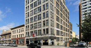 The L.A. Rockler Fur Co. building at 16 Fourth St. N., built in 1915, would become 48 supportive apartment units under a plan Beacon Interfaith Housing Collaborative is advancing. (Submitted photo: CoStar Group)