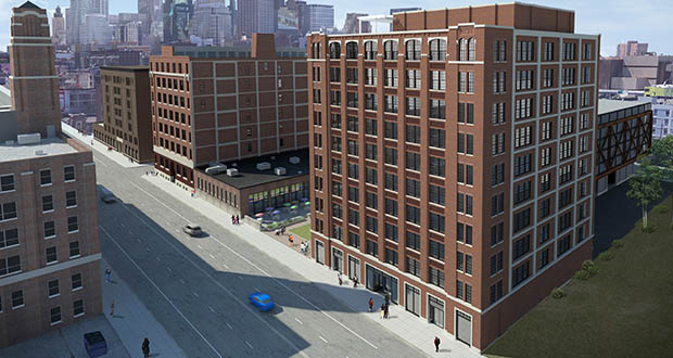 West Monroe has signed a lease for 42,000 square feet of space at The Nordic at 729 Washington Ave. N. in Minneapolis. (Submitted illustration: United Properties)
