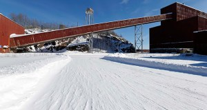 "A three-judge panel of the Minnesota Court of Appeals ruled Monday that the state Department of Natural Resources erred when it declined to order a proceeding known as a ""contested case hearing"" to gather more information on the potential environmental impacts of the PolyMet copper-nickel mine project. This Feb. 10, 2016, photo shows a former iron ore processing plant near Hoyt Lakes, Minnesota, that would become part of a proposed PolyMet copper-nickel mine. (AP file photo)"