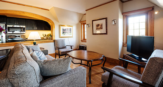 Rooms at The Davidson all include kitchen or kitchenette facilities for guests looking for an extended stay. (Submitted photo: The Davidson)