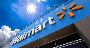 Walmart is reporting disappointing fourth-quarter profits and sales. This June 2019 photo shows the entrance to a Walmart in Pittsburgh. (AP file photo)