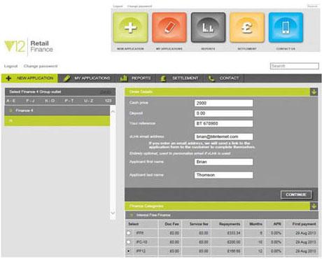 Web Based Application System