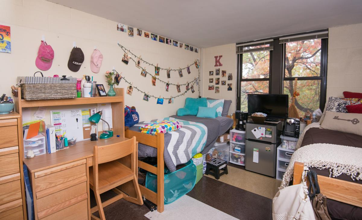 Furniture in Residence Halls  Finance  Administration