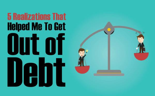 5 Simple Steps to Get out of Debt in 2018