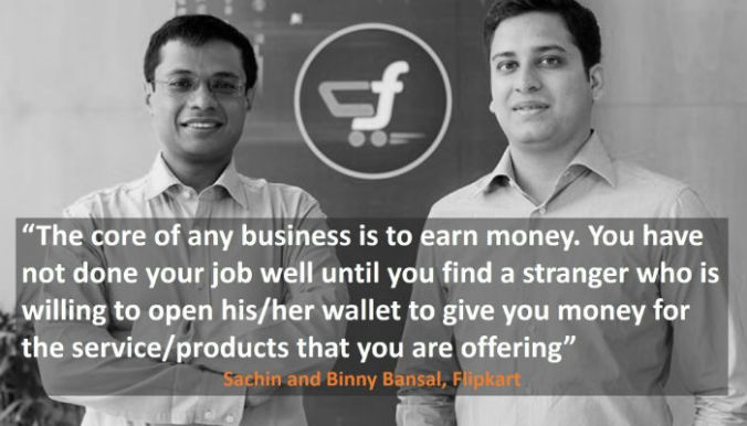 Sachin and Binny Bansal Quotes