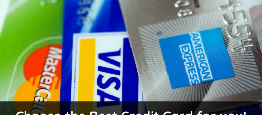 Choose the Best Credit Card for you!