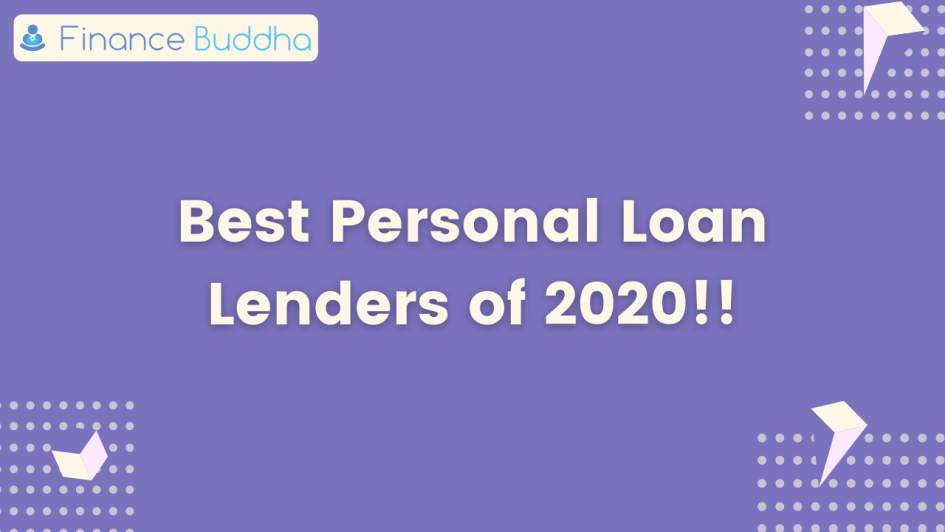 Best personal loan Lenders of 2020!!
