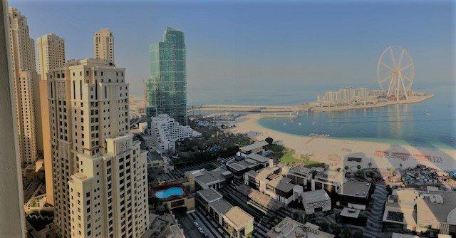 Dubai hotel view