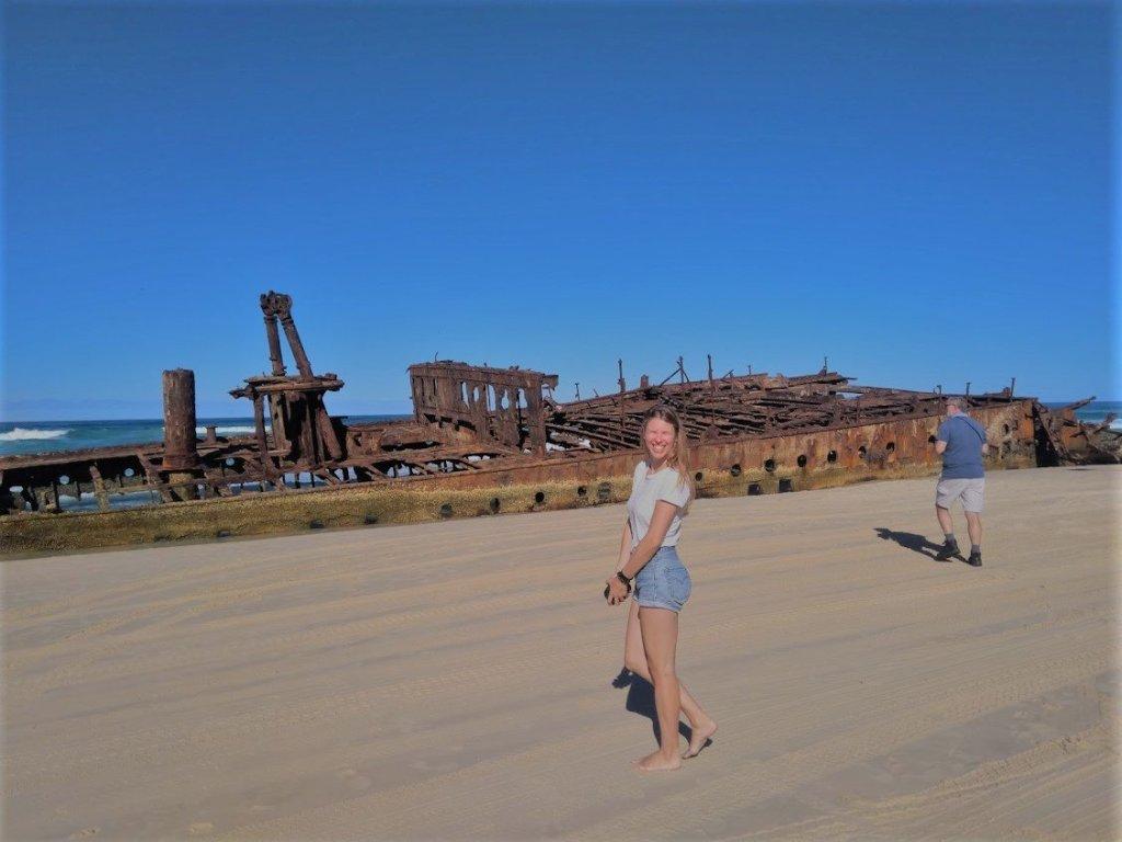 Australie Fraser Island boot