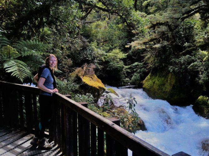 Dividendlekkage waterval rivier brug
