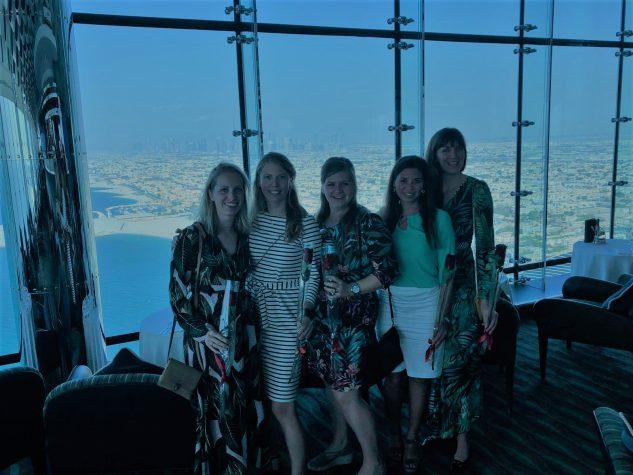 Dubai high tea Burj al Arab