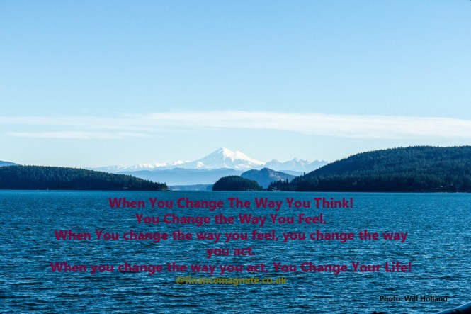 Landscape photo: Change the way you think - change your life today