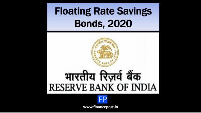 floating rate savings bonds,2020