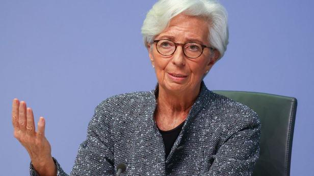 Présidente de la BCE Christine Lagarde
