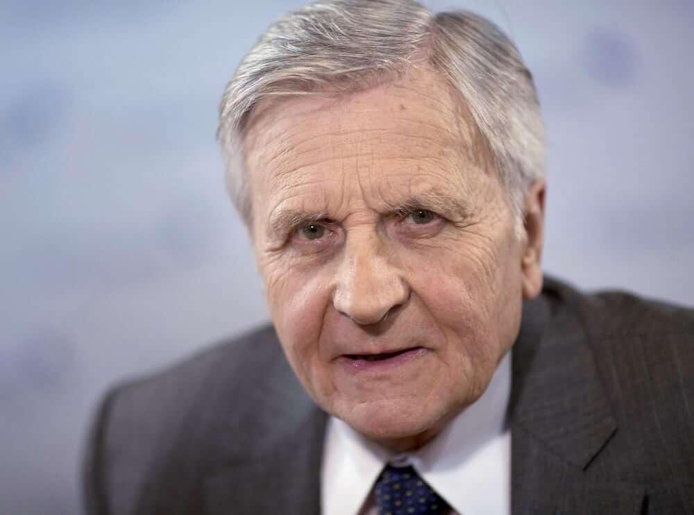 Président de la BCE Jean-Claude Trichet