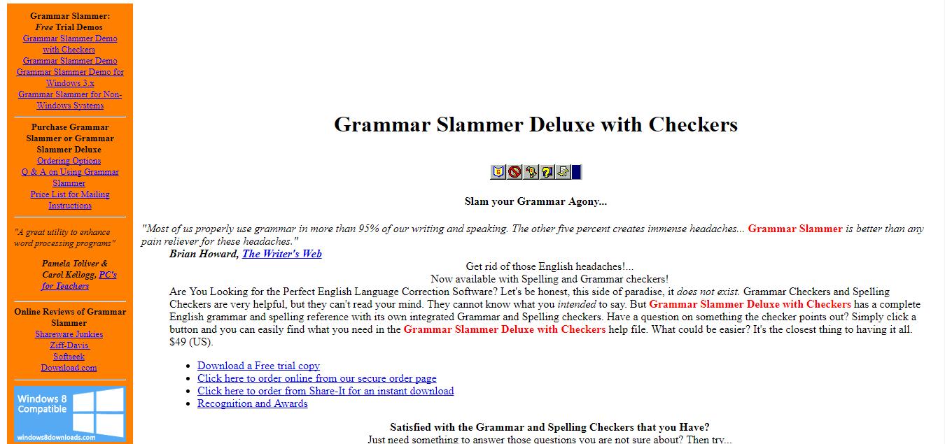 hight resolution of grammar slammer
