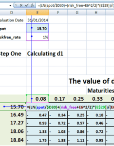 Implied and local volatility surfaces in excel final steps also constructing  lesson five rh financetrainingcourse