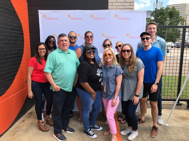 Financial Additions Team with City Square