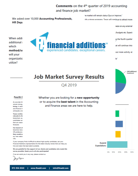 Job Market Survey
