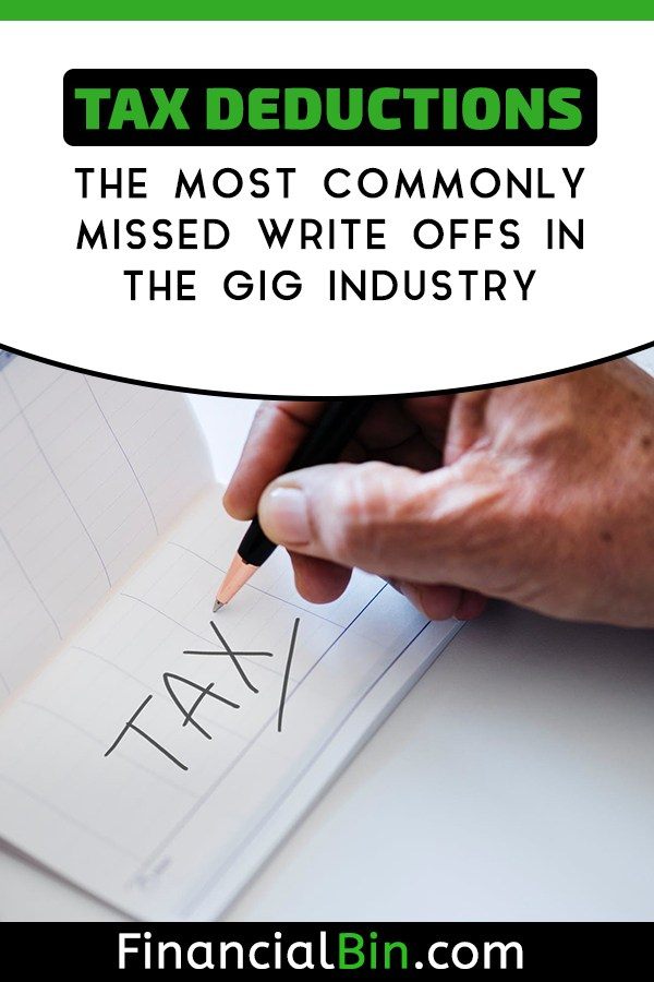 Most Commonly Missed Tax Write Offs