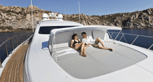 Relaxing-aboard-Mangusta-92-yacht