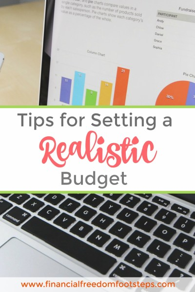 Set a realistic budget