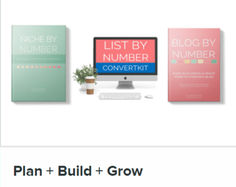 Get the amazing 3 course bundle from Suzi Whitford - Plan, Build, Grow!