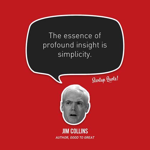 Jim Collins Quote