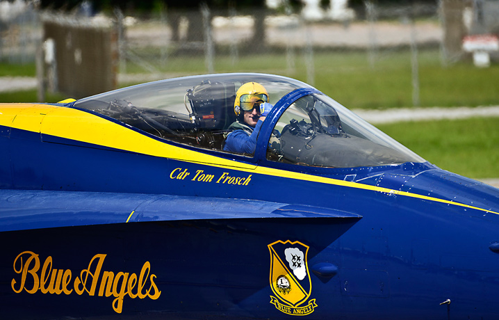 Financial Glass - Blue Angels Cockpit