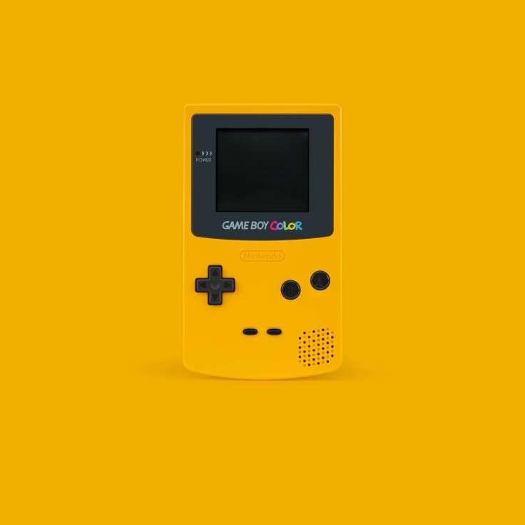 Financial Glass - Gameboy Color
