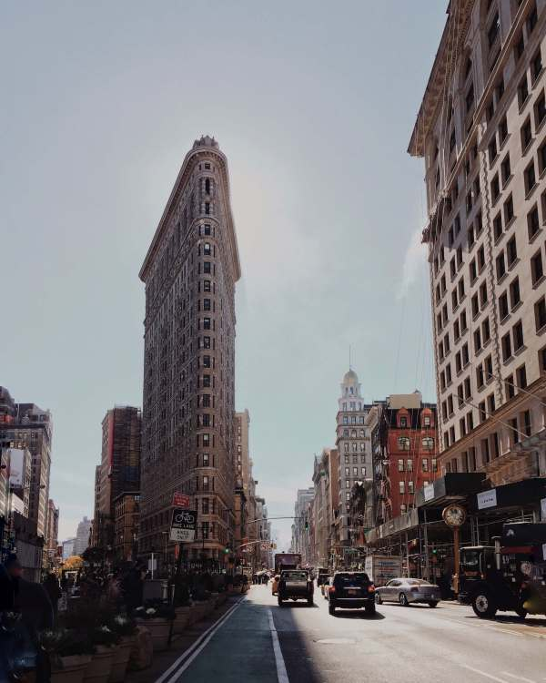 Flat Iron Building NYC Manhattan - Silicon Alley