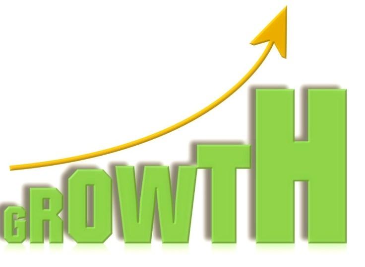 Financial Glass - Growth Chart - Hockey Stick Graph