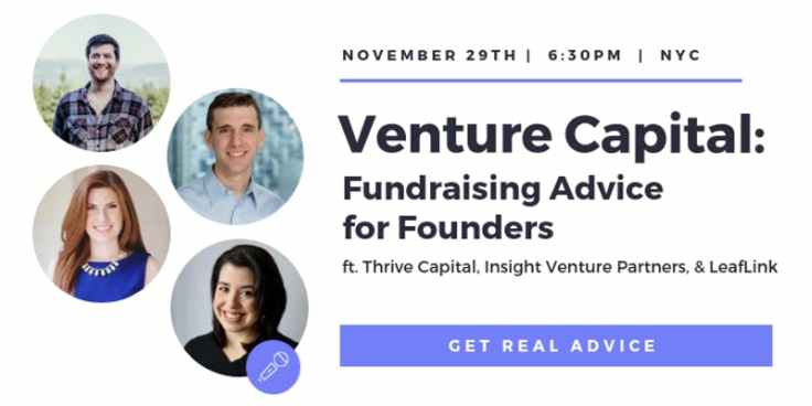 Venture Capital Fundraising Advice for Founders