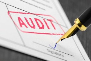red audit stamp