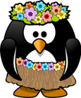 penguin-hula